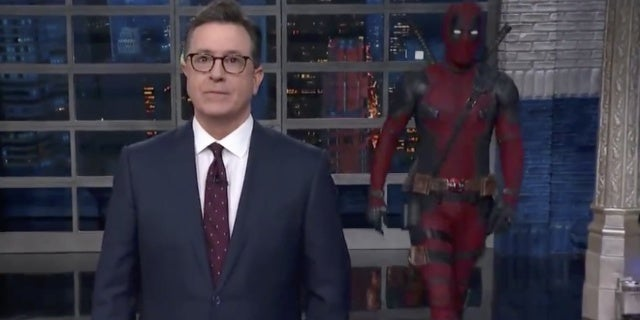 deadpool 2 late show with stephen colbert