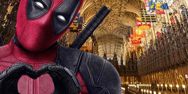 deadpool royal wedding