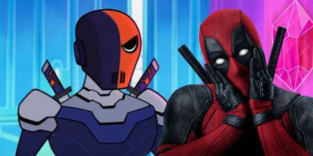 deadpool ryan reynolds teen titans go