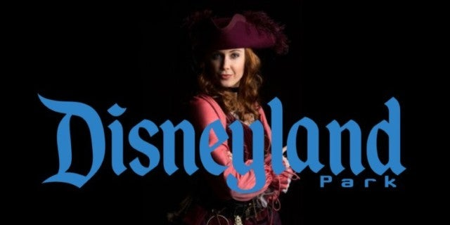 Disneyland Redhead