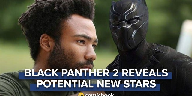 Donald Glover & Michael B. Jordan Reportedly in Talks for 'Black Panther 2' screen capture