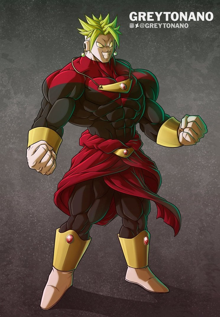 Dragon Ball Super Jiren Broly Fusion