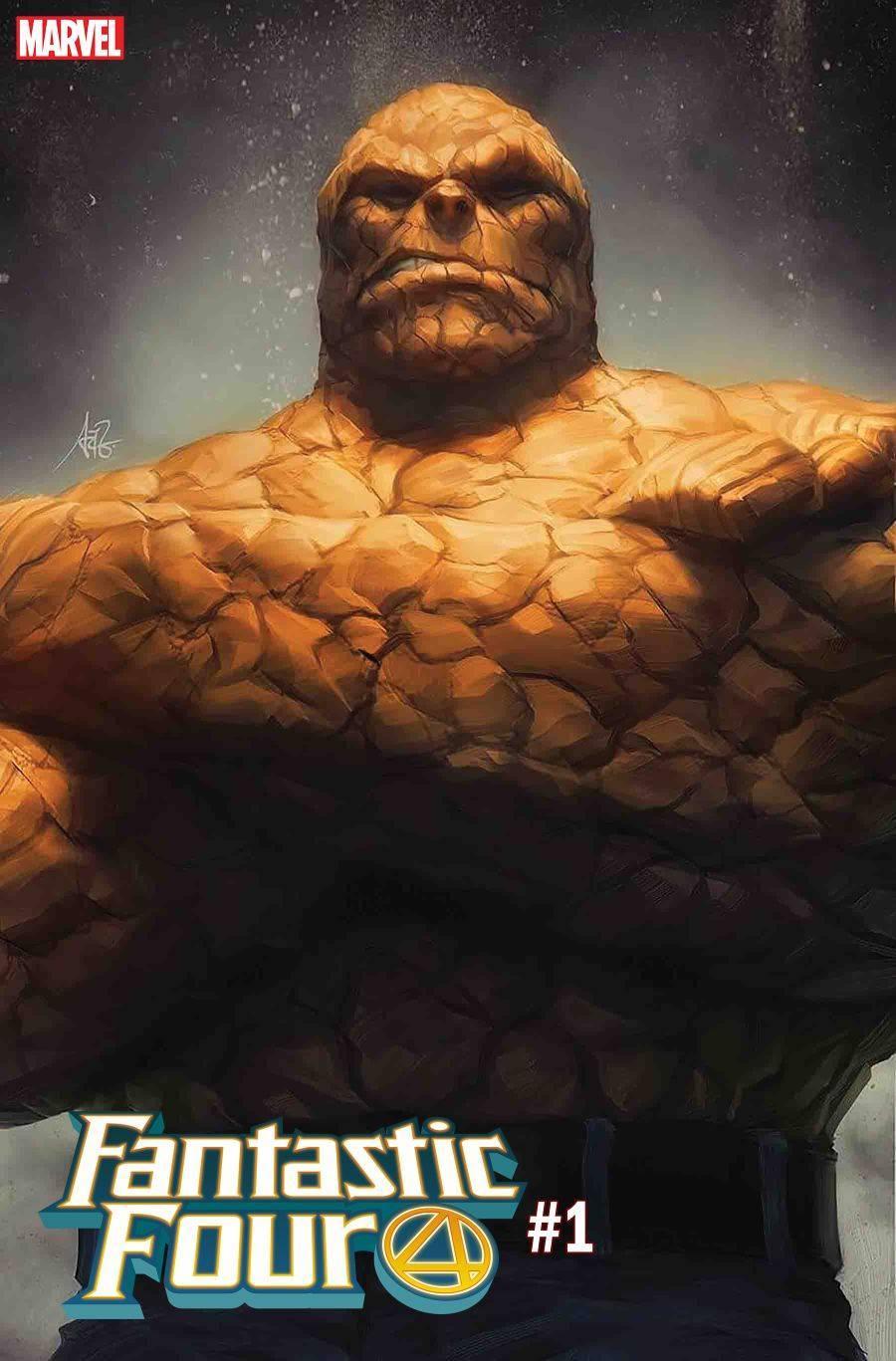 Fantastic Four Thing Artgerm