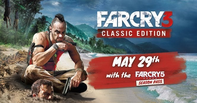Far Cry 3: Classic Edition Drops May 29 For Far Cry 5 Season Pass