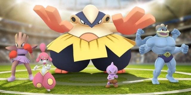fighting pokemon