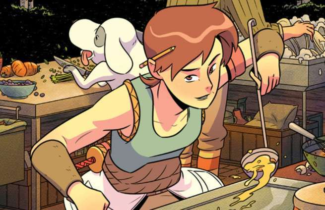 Food Comics - Cover