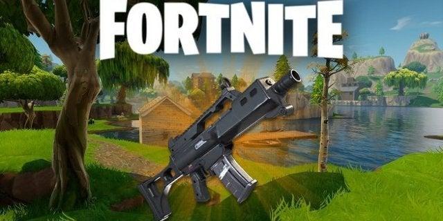 Fortnite Burst Assault Rifle