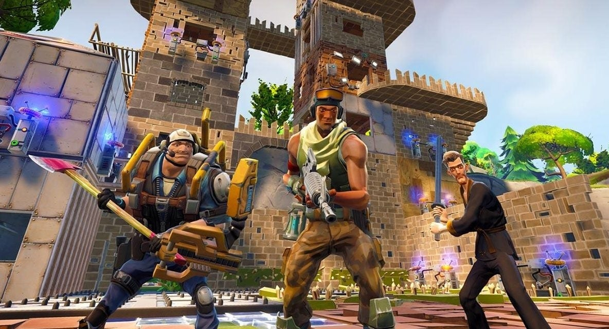 fortnite battle royale build off proves the sky really is the limit
