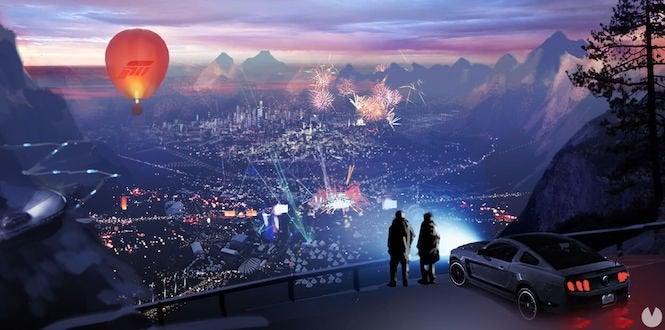 Rumor: Forza Horizon 4 Concept Art Shows International Flair