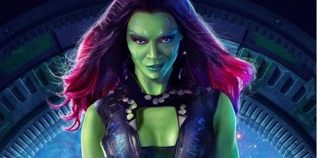 Gamora Zoe Saldana