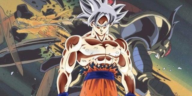 Goku Ultra Instinct Dragon Punch Artwork