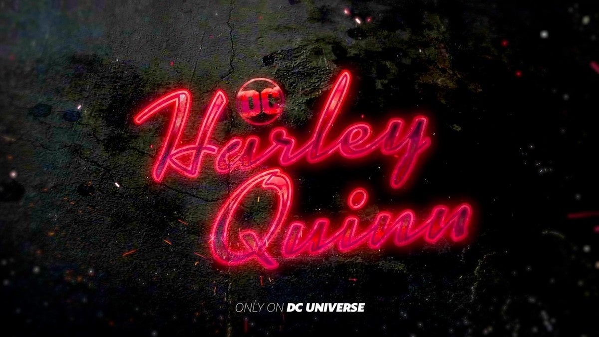 harley quinn animated series logo released