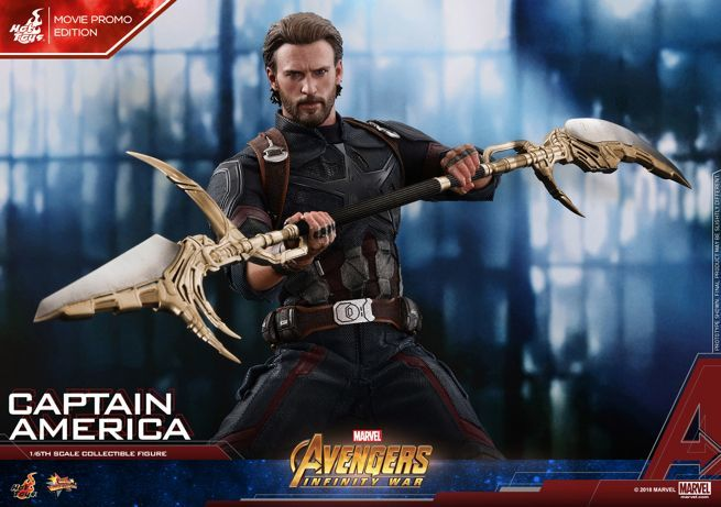 Not Toys For 2018 From Moive : Mystery weapons for the avengers infinity war hot toys