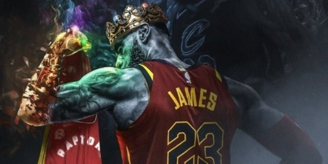 This Lebron James Avengers Infinity War Trailer Is: Fan-Art Imagines Lebron James With Infinity Gauntlet After