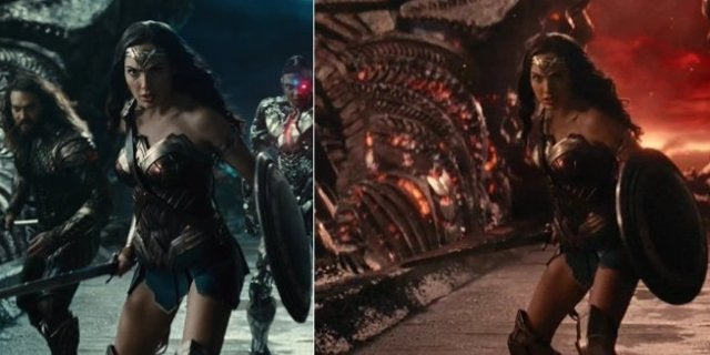 Justice League Changes Snyder Whedon Versions