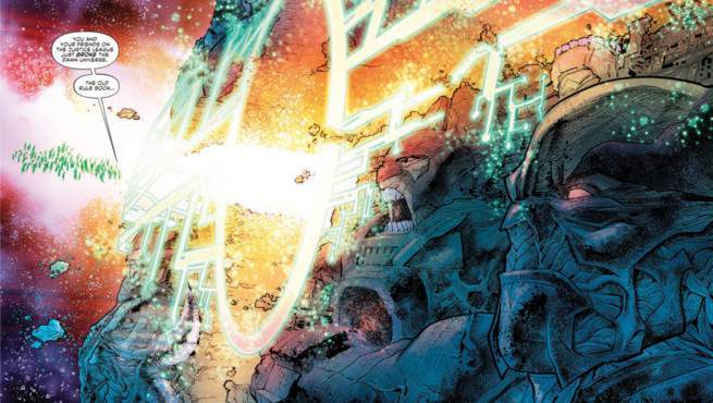 Justice League No Justice #1 Review - Source Wall