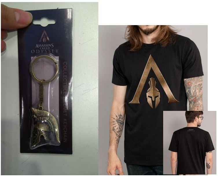 A keyring has apparently leaked the next Assassin's Creed game