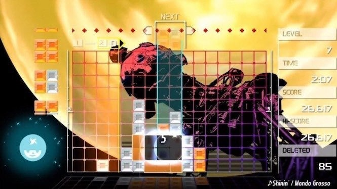 LUMINES REMASTERED Game