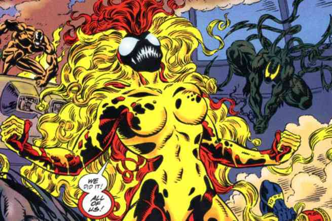 Marvel Comics Symbiote Ranking - Scream