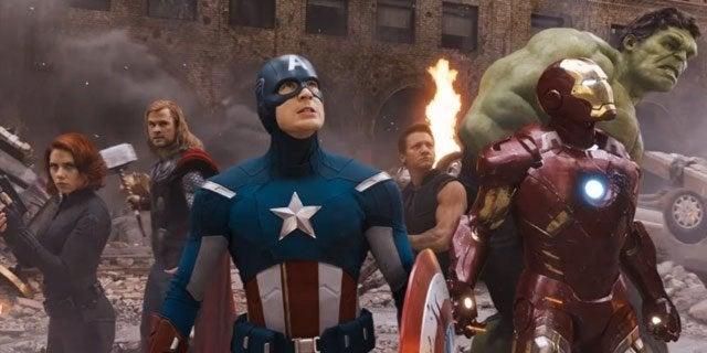 marvel's the avengers group shot 2012