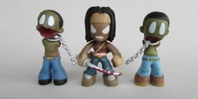 Michonne_Pets_Figures