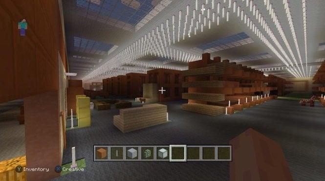 Minecraft Fan Recreates Home Depot In Game