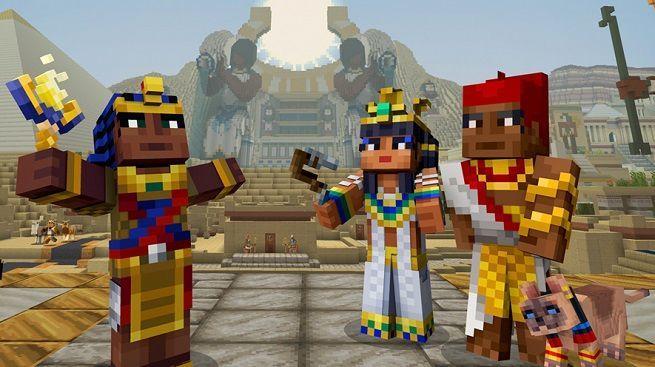 Minecraft Adds New Egyptian Mythology AddOn Pack - Skin para minecraft pc 1 11 2