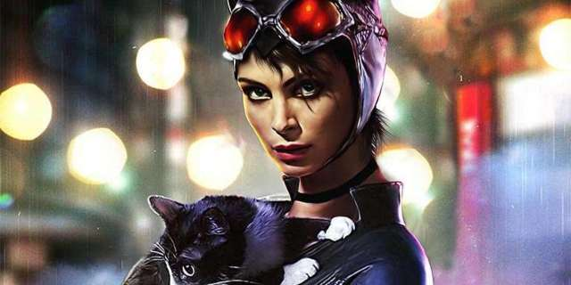 morena baccarin catwoman fan poster