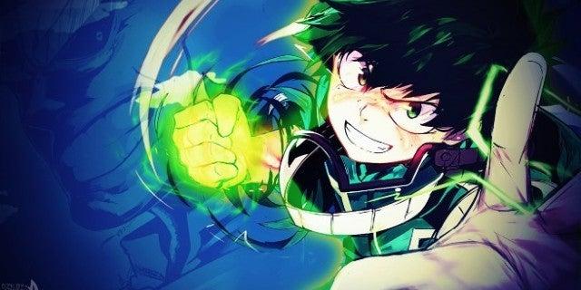 My Hero Academia Izuku Full Power Art