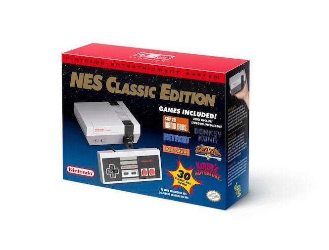 Nintendo is releasing its retro NES Classic on June 29