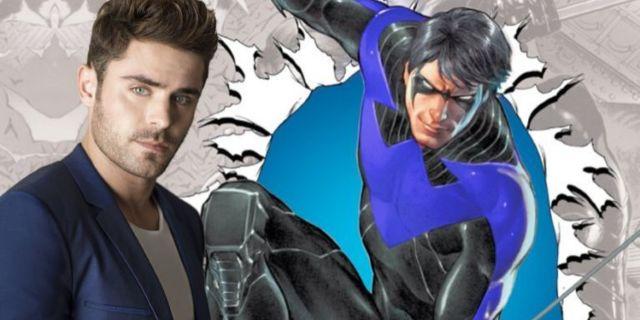 Nightwing Zac Efron ComicBookcom