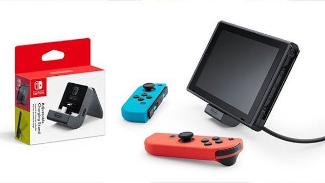 Nintendo Switch Official Charging Stand Will Arrive in July