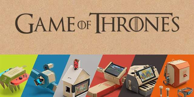 Nintendo Labo Game Of Thrones