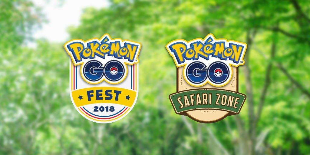 Pokemon Go Fest And Safari Zone Events Return This Summer