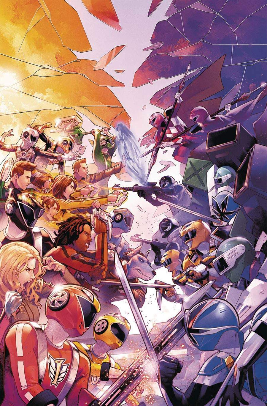 Power Rangers 10 Best Shattered Grid Covers