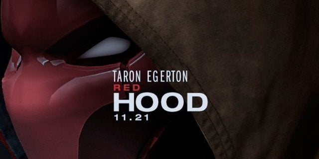 Red Hood Taron Egerton