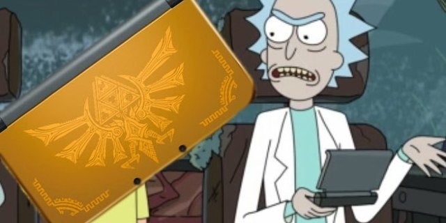 'Rick And Morty' Creator Explains A Fan-Favorite Joke By Selling A Nintendo 3DS