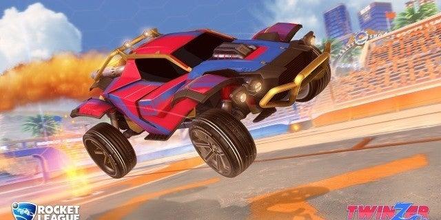 Rocket League Salty Shores