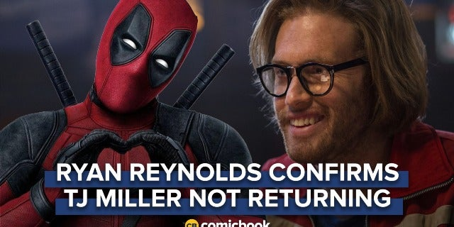 Ryan Reynolds Confirms TJ Miller Will Not Return for X-Force screen capture