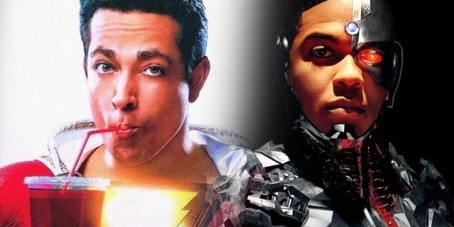 shazam movie cyborg