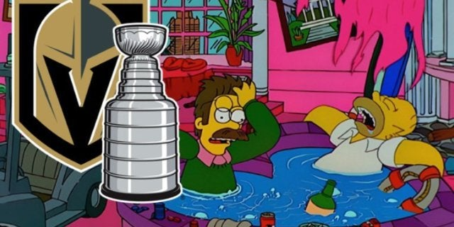Simpsons Las Vegas Golden Knights