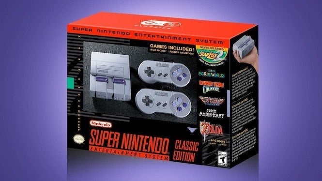 SNES Classic Edition In Stock at GameStop