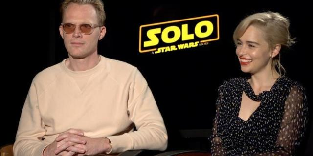 solo-a-star-wars-story-emilia-clarke-paul-bettany-interview