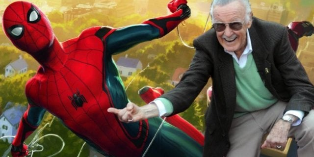 Spider-Man Stan Lee Tom Holland comicbookcom