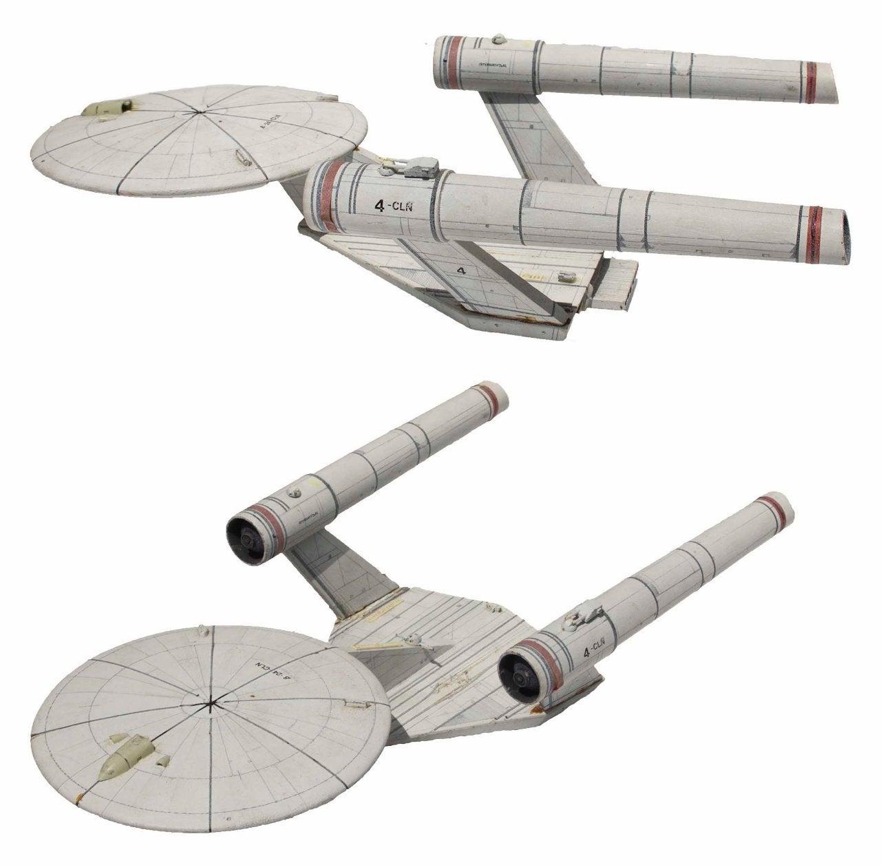 Star Trek Planet of the Titans Enterprise