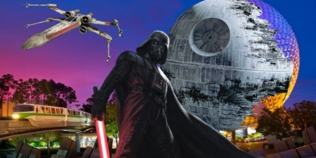 Star Wars Walt Disney World monorail ComicBookcom