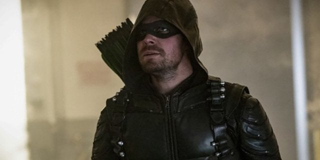 'Arrow's Stephen Amell Teases Someone Trying on a Superhero Suit for the First Time