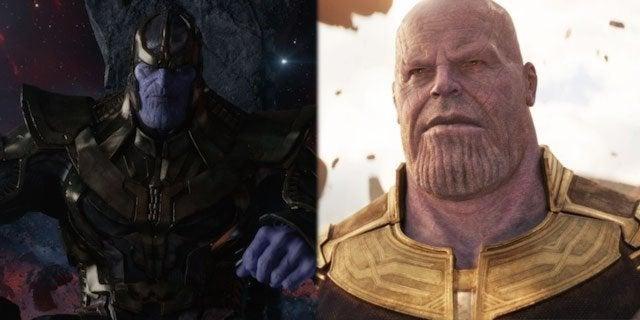 thanos avengers infinity war original 2012