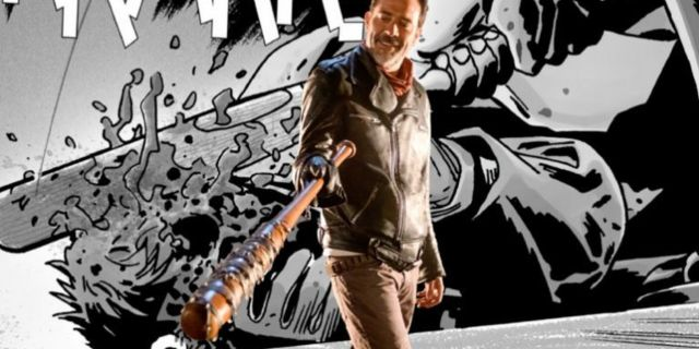 The Walking Dead Negan Jeffrey Dean Morgan comicbookcom