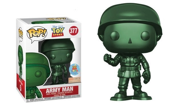 The Exclusive Toy Story Land Green Army Man Funko Pop Figure Arrives